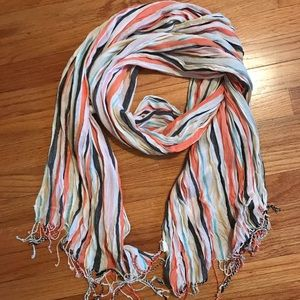 Accessories - Colorful striped scarf 🧣